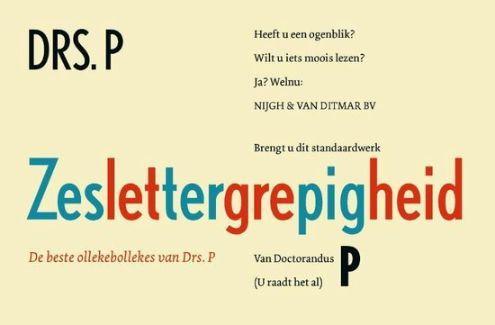 Zeslettergrepigheid - Drs. P   Fthsonline.com