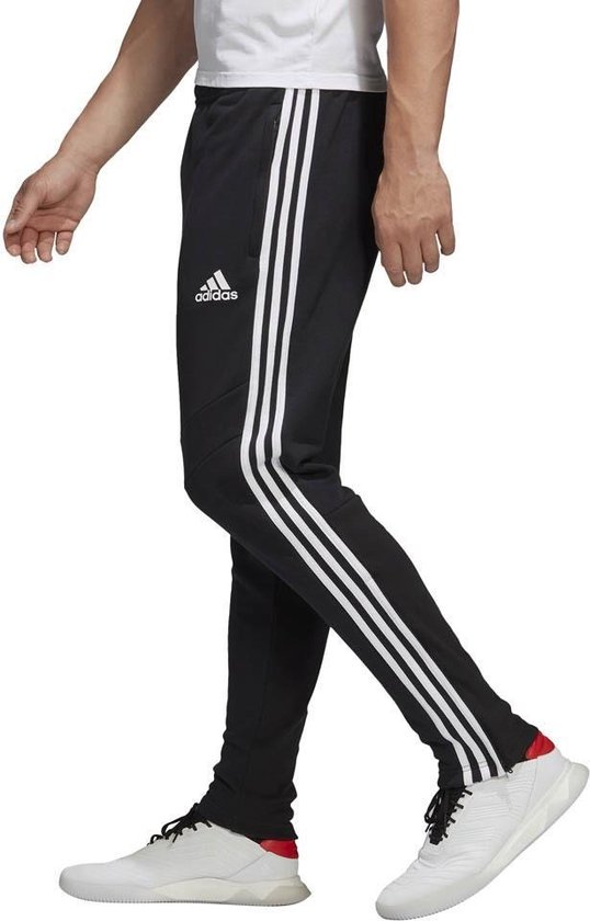 bol.com | adidas 3-Stripes Tiro trainingsbroek heren zwart/wit