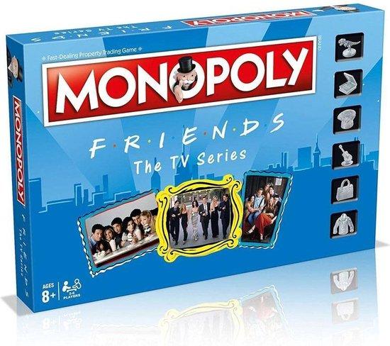 Monopoly Friends - Engelstalig Bordspel
