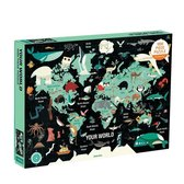 Map of the World 1000 Piece Family Puzzle