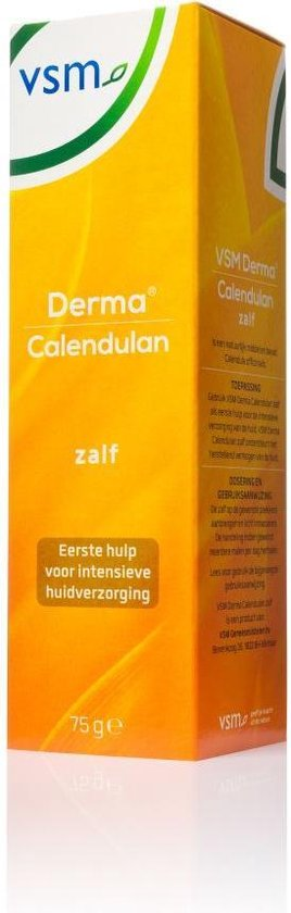 VSM Derma Calendulan zalf - 75 gr - Verzorgingsproduct - VSM Calendulan zalf
