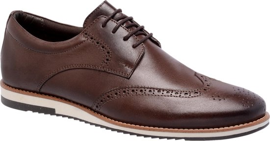 Galutti Handmade Leather Shoes - Sport Social  - Coffee - 43 (EU)