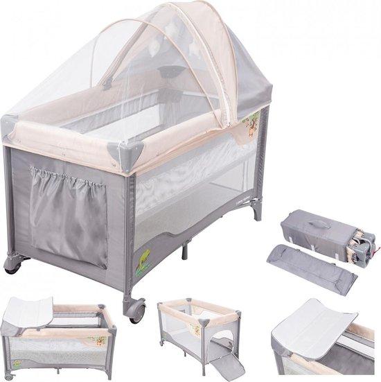 Moby System Campingbedje - Box - 0 tot 3 jaar - Klamboe - Reisbedje baby