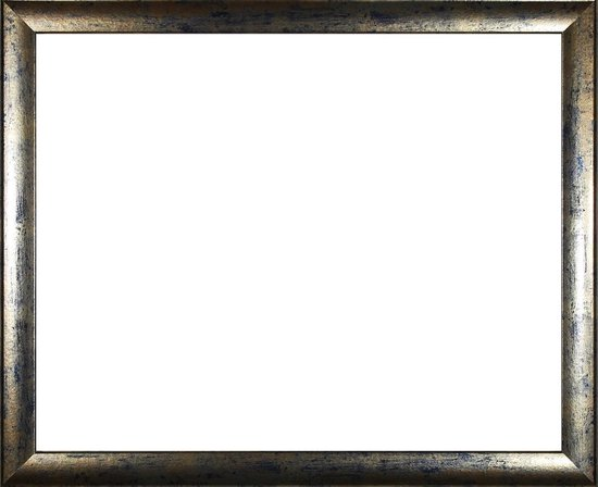 Homedecoration Colorado – Fotolijst – Fotomaat – 39 x 49 cm – Blauw goud gevlekt