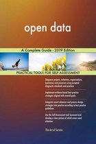 open data A Complete Guide - 2019 Edition