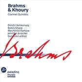 Brahms & Khoury: Clarinet Quintets
