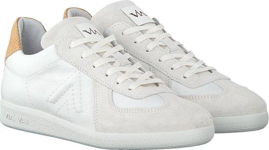 Via Vai Dames Lage Sneakers Nilla Sleek - Wit Maat 41 ZHd8YN