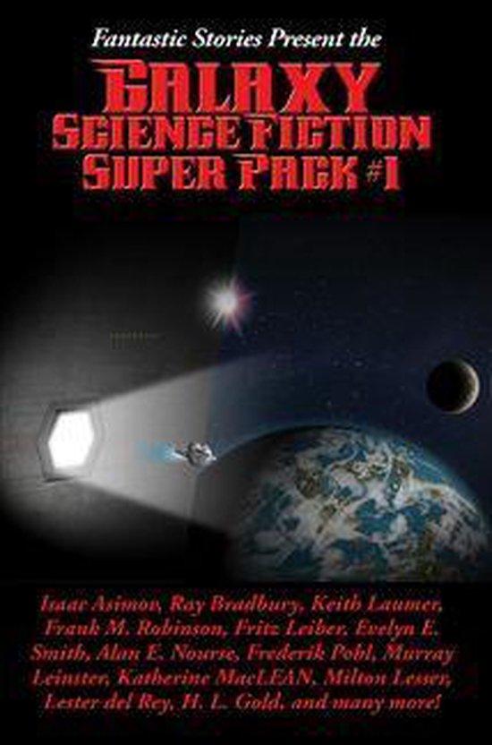 Boek cover Fantastic Stories Present the Galaxy Science Fiction Super Pack #1 van Edgar Pangborn (Onbekend)