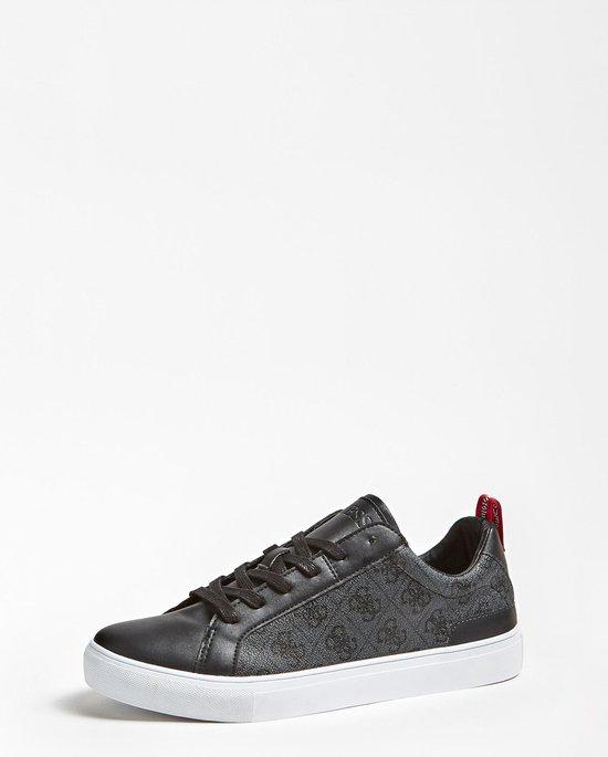Guess Heren Sneaker Luiss Low - Zwart - Maat 44