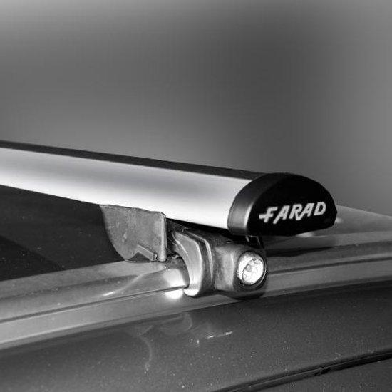 Faradbox Dakdragers Kia Niro 2016> gesloten dakrail, 100kg laadvermogen
