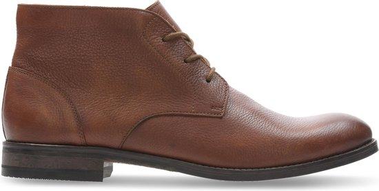 Clarks - Herenschoenen - Flow Top - G - tan leather - maat 10