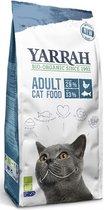 Yarrah cat biologische brokken vis (msc) zonder toegevoegde suikers kattenvoer 2,4 kg