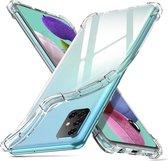 Samsung Galaxy A51 Hoesje Shock Proof Transparant