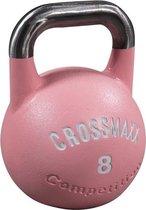 Competitie kettlebell 8kg, roze