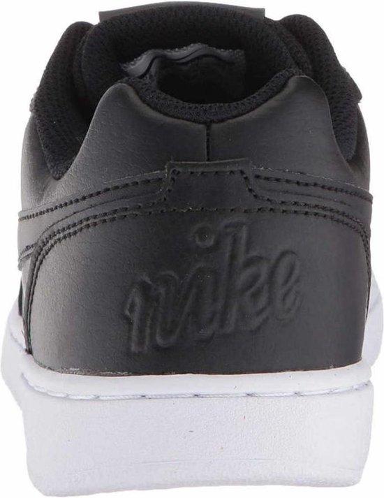 Nike Ebernon Low Dames Sneakers - Maat 38 Vrouwen Zwart