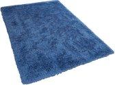 Beliani CIDE - Vloerkleed - Blauw - Polyester