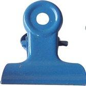 LPC Papierklem Bulldog clip blauw - 19 mm -30 stuks