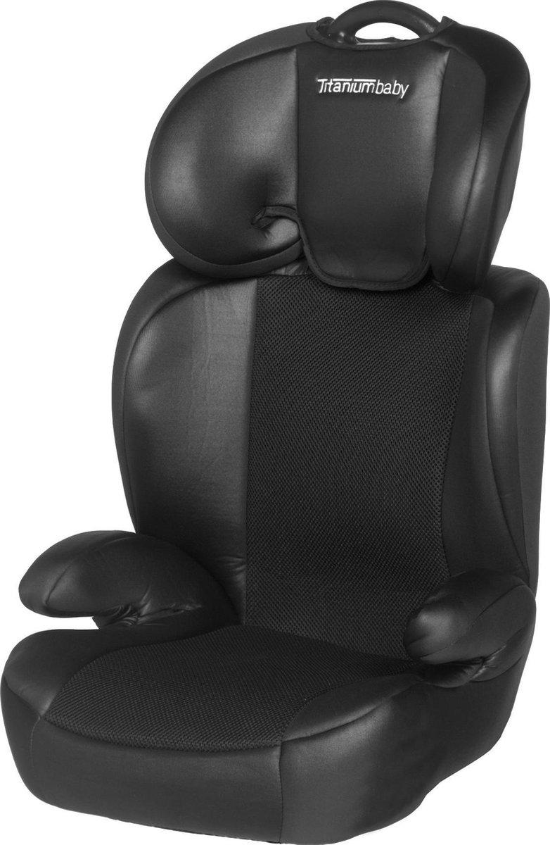 Titaniumbaby Vidar Autostoeltje - Groep 2/3 - Zwart