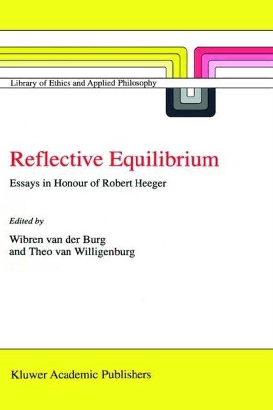 Boek cover Reflective Equilibrium van  (Hardcover)