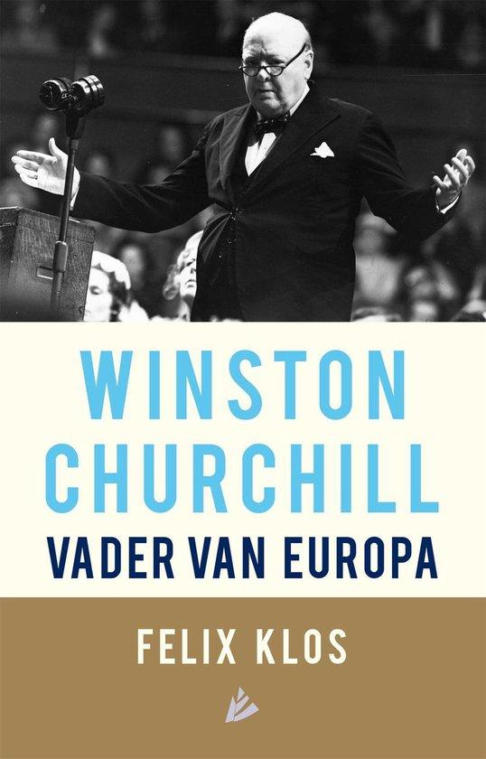 Boek cover Winston Churchill, vader van Europa van Felix Klos (Onbekend)