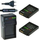 ChiliPower EN-EL12 Nikon Kit - Camera Batterij Set