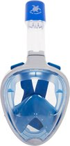 Sea Turtle Full Face Mask - Snorkelmasker - S/M - Wit/Blauw