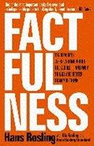 Boek cover Factfulness van Hans Rosling (Paperback)