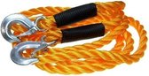Auto sleepkabel tot 5000 kg oranje - Autopech trekkabel 3,5 meter - Auto accessoires
