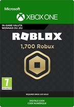 Roblox: 1.700 Robux - InGame tegoed - Xbox One download