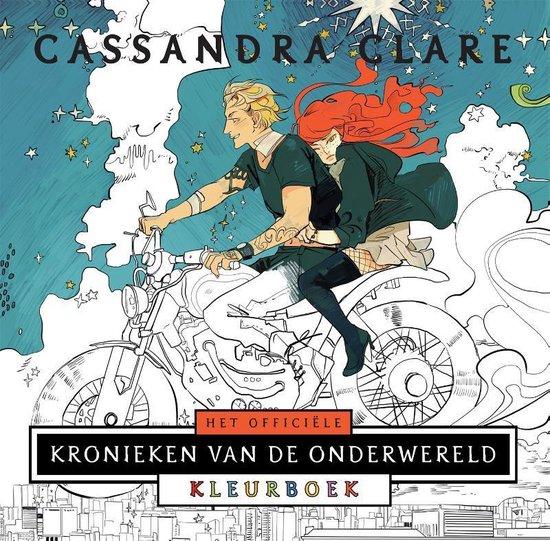 Het officiële Kronieken van de Onderwereld Kleurboek - Cassandra Clare |