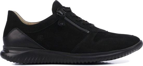 Hartjes Vrouwen Nubuck / Sneakers / Damesschoenen / 111262 – Zwart – Maat 37.5