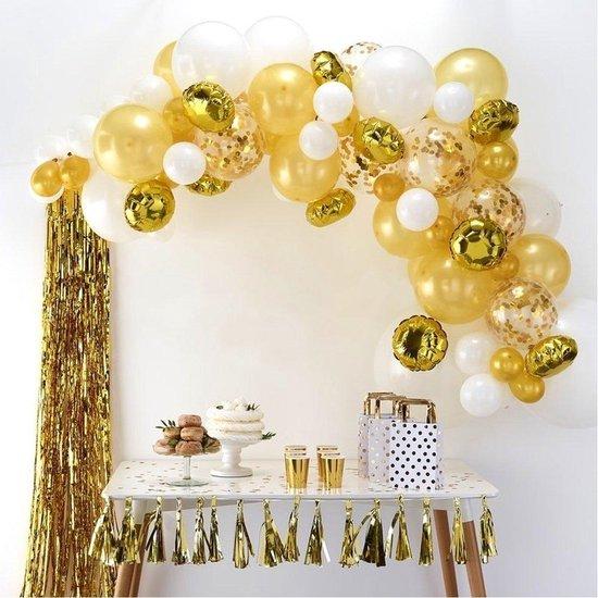 Ballonnenboog Kit - Goud