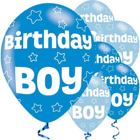 Ballonnen - Birthday Boy - 6 stuks