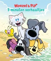 Boek cover Woezel & Pip  -   5 minuten verhaaltjes van Dromenjager (Hardcover)