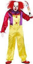 FIESTAS GUIRCA, S.L. - Enge killer clown outfit voor volwassenen - Large