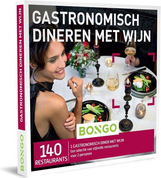 Bongo Bon Nederland - Gastronomisch Dineren met Wijn Cadeaubon - Cadeaukaart cadeau voor koppels | 140 klasserestaurants