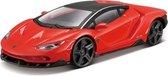 Afbeelding van Modelauto Lamborghini Centenario rood 1:43 - speelgoed auto schaalmodel
