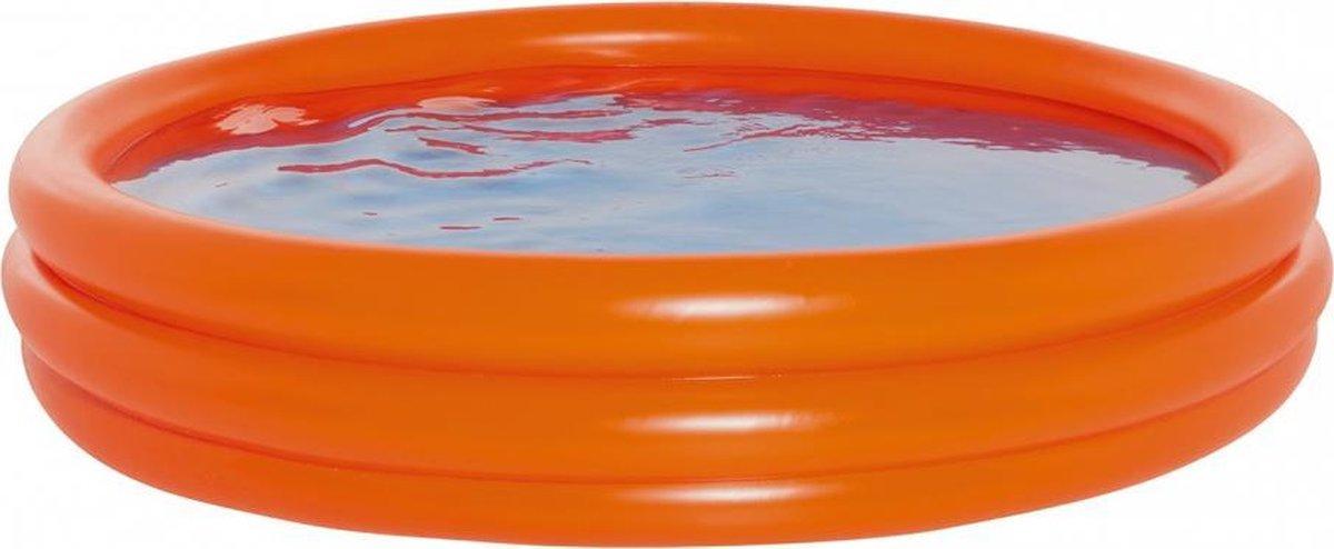 opblaaszwembad 200 x 39 oranje