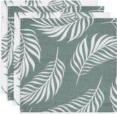Jollein Nature  Hydrofiel multidoek small 70x70cm ash green (4pack)