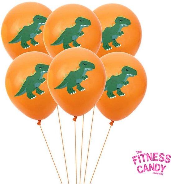 Dino Ballonnen - Set van 6