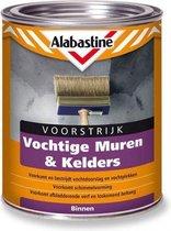 Alabastine Voorstijk - Voor vochtige muren & kelders - 1 liter