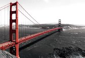 Fotobehang City Golden Gate Bridge | XXL - 312cm x 219cm | 130g/m2 Vlies