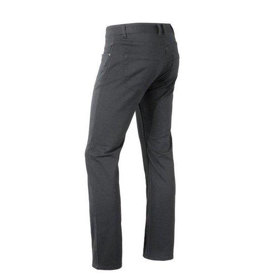 Brams Paris - Heren Jeans Stretch Lengte 36 Hugo Antraciet