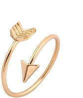 Joboly Pijl arrow boho bohemian style verstelbare ring  - Dames