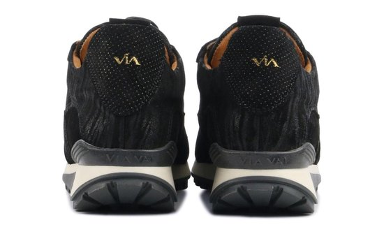 Via Vai Dames Sneakers Lynn - Zwart Maat 39 kH38Pv