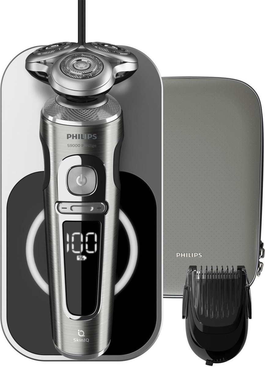 Philips Shaver S9000 Prestige SP9861/16 - Scheerapparaat - Lichtgrijs