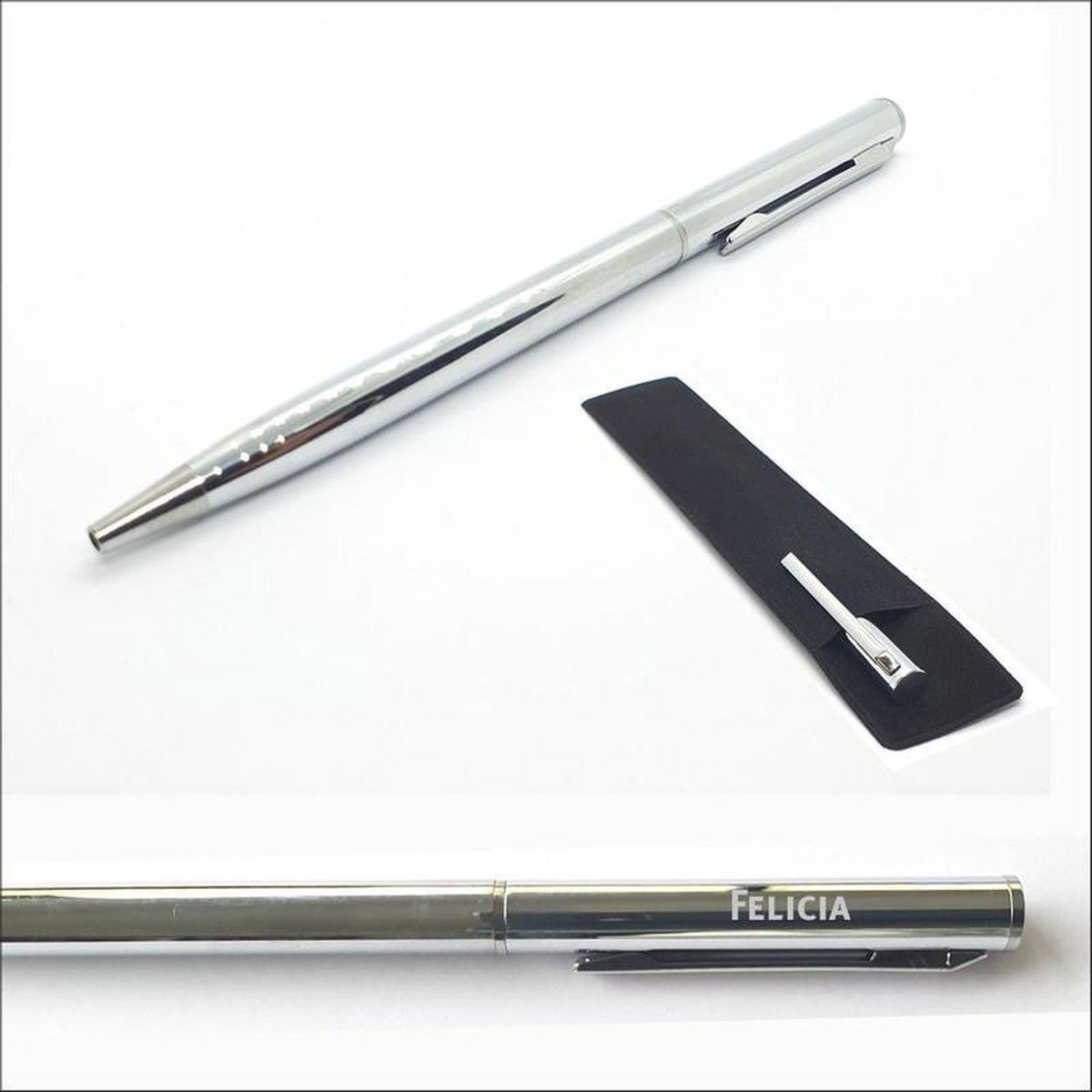 Pen Met Naam Gravering -  Felicia