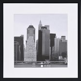 Fotolijst - Henzo - Metallica - Fotomaat 40x40 cm - Zwart
