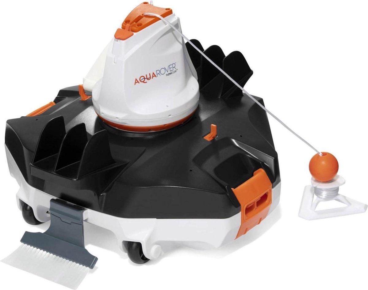 Autonome Flowclear AquaRover robot zwembadreiniger voor zwembaden met een vlakke vloer tot 45m²