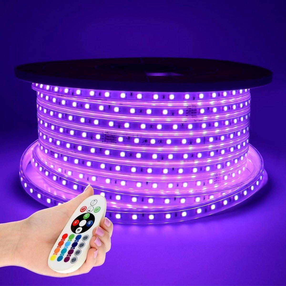 Dimbare LED Strip 50m RGB 60 LEDs/m IP65 Plug & Play - Flex60 Series